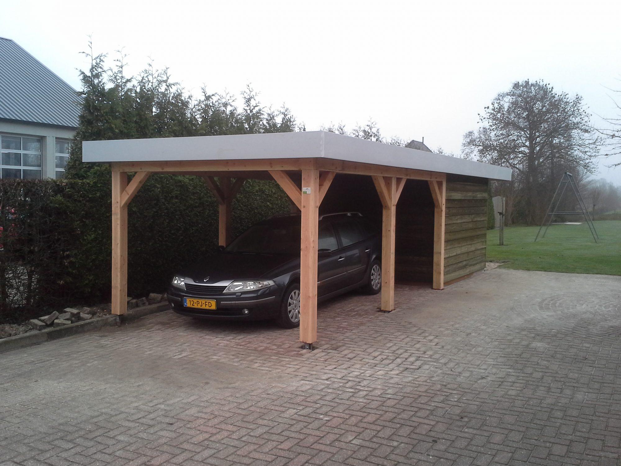 Houten Carport op maat van Olja Houtbouw | Professioneel en deskundig